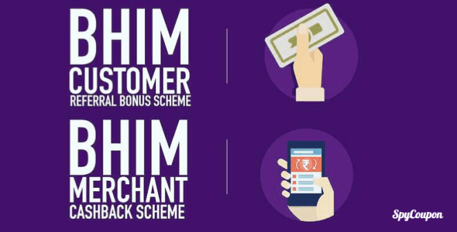 bhim app refer and earn