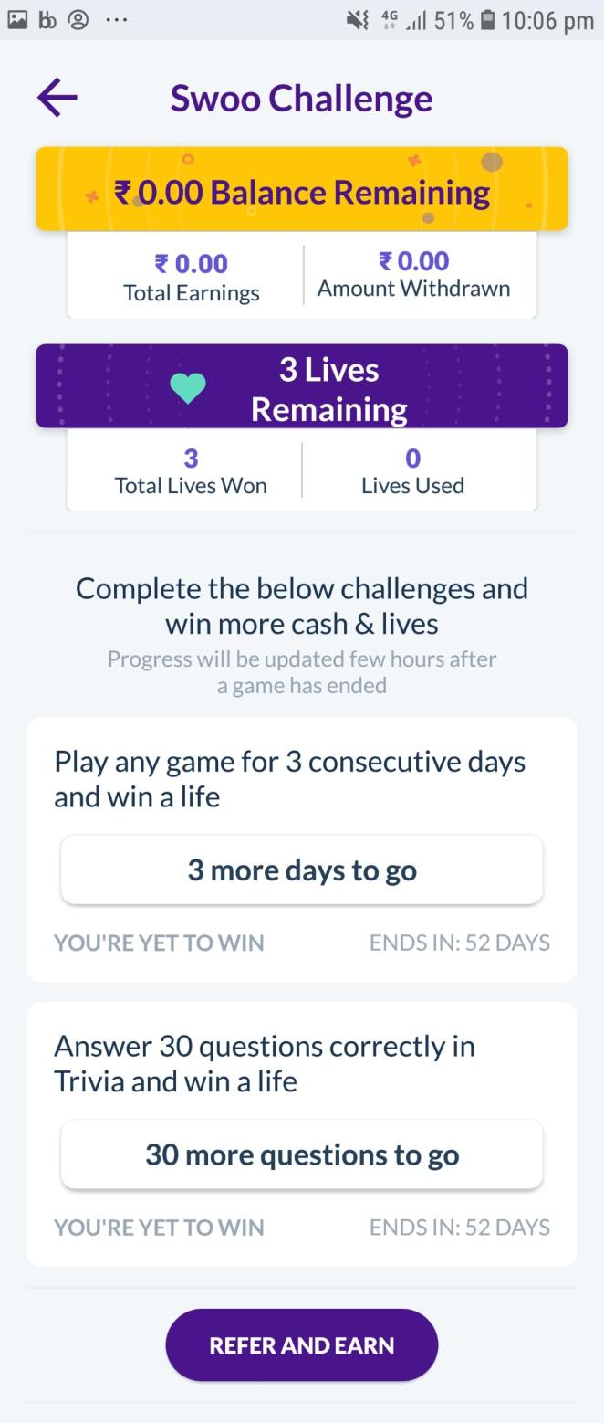 swoo refer and earn