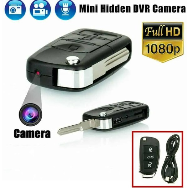 car key spy camera with night vision