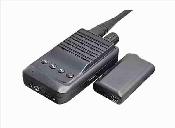UHF bugging set