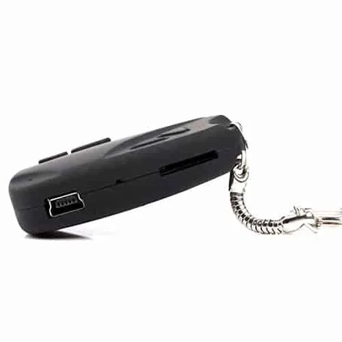keyring spy camera video and audio