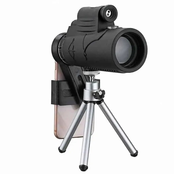 Smartphone zoom lens trypod