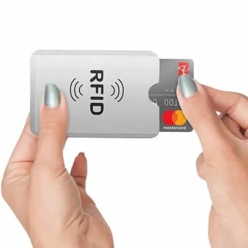 blocking envelope wireless credit card blocker