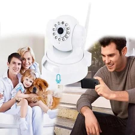Room WiFI camera movement detect