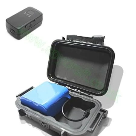 GPS tracking battery pack extended basttery power
