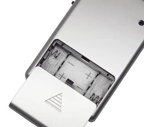 Basic pocket bug detector power batterys