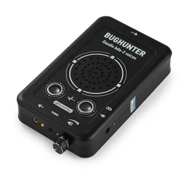 Dictaphone recorder countermeasures voice jammer