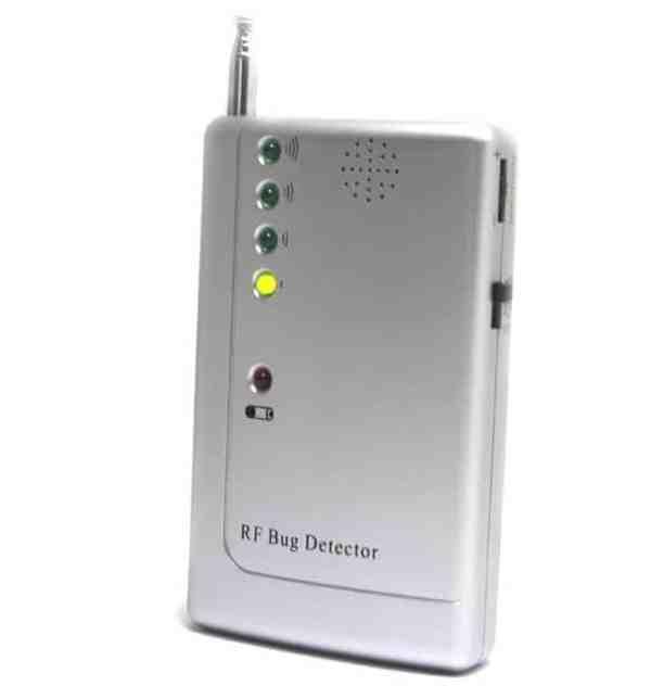 Basic pocket bug detector