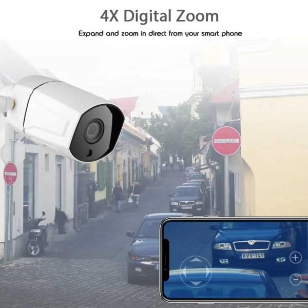 CCTV zoom camera HD zoom