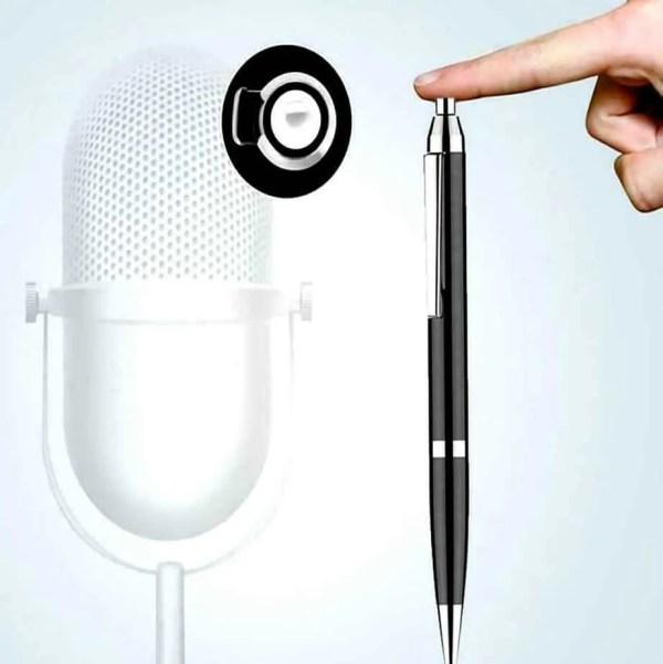 secret recording pen