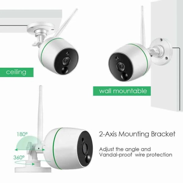 Wifi security camera model