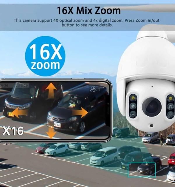 CCTV super zoom x 16