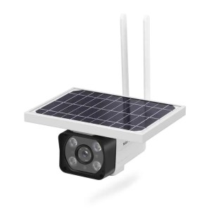 Solar-powered cctv 4G