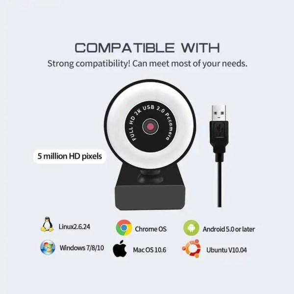 webcam compatability