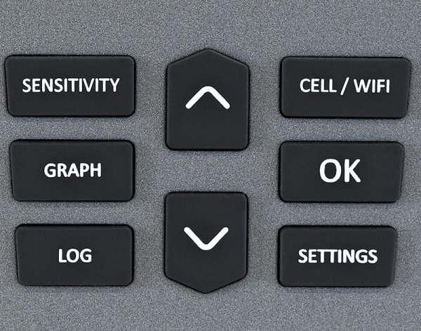 CAM-GX5 control panel