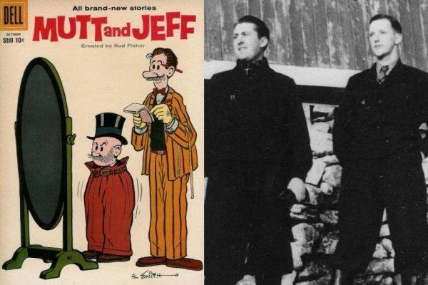 Mutt-and-Jeff-Comparison