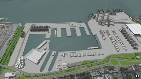 The Green Port development in Hull is attracting investment from Siemens and Associated British Ports