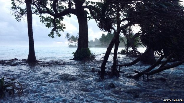 Officials in places like the Marshall Islands blame climate change for recent floods
