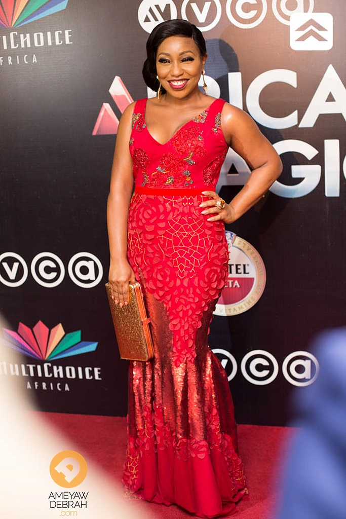 Amvcas red carpet