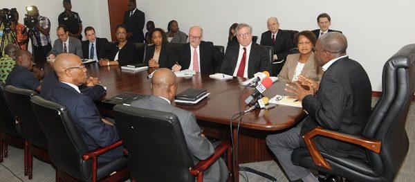 Kwesi Amissah-Arthur meeting