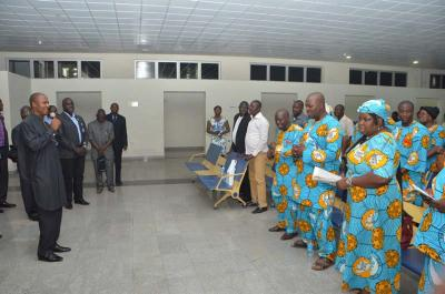Be Good Ambassadors, Opara Charged Pilgrims