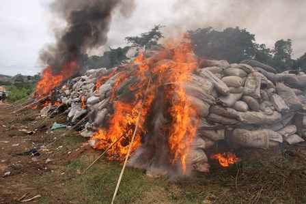 the drugs on fire at akure