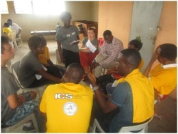 ?Formation and management of youth neighbourhood parliament. Training sessions on going