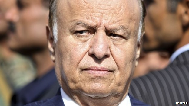 President Hadi has been under pressure for months
