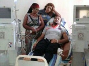 The late Muna on his death bed