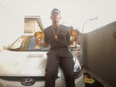 Headies Finally Give Patoranking His Car After Winning Next Rated Category