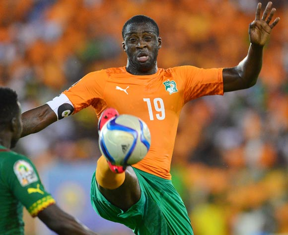 Yaya Toure is the star man of the Ivorian team