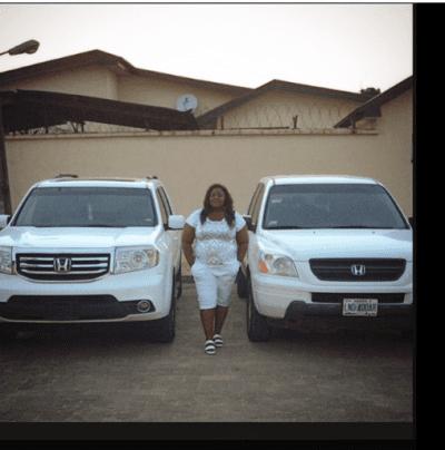 Actress, Eniola Badmus Acquires New Honda Pilot