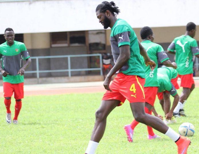 Emmanuel Adebayor joins Togo camp