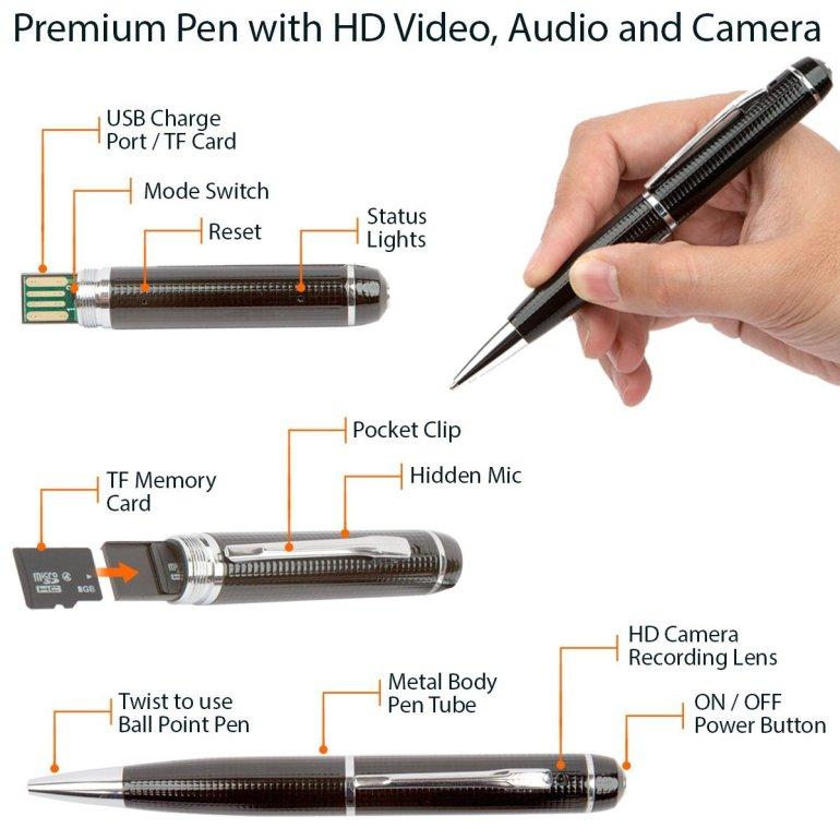 Spy Pen Hidden Cam