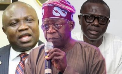 BREAKING: It Is Over, Ambode 'Shoots' Self Politically, As Tinubu Gives Final Verdict !