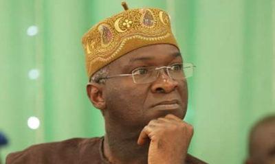 Nigerians No Longer Buy Fuel For Generators, They Have Been Enjoying Constant Power Supply Under Buhari- Fashola
