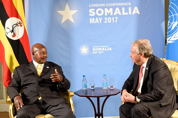 UN Secretary General arrives in Uganda today to drum up refugee support