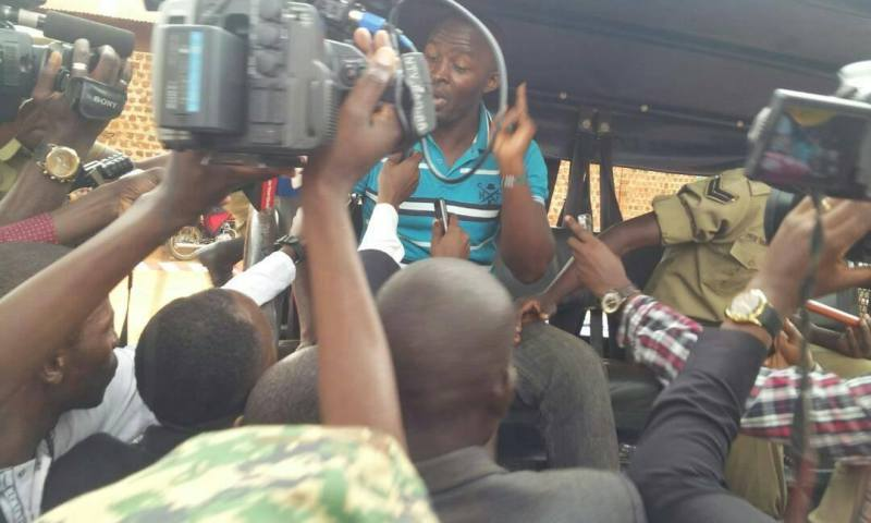 Age limit campaign haunts Kassanda Mp Semeo Nsubuga, manhandled before Kabaka Mutebi
