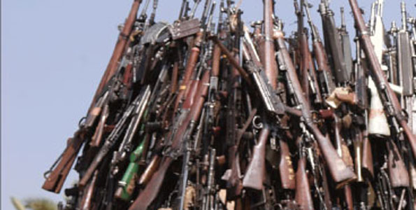 Police Recovers 48 Guns In Countrywide swoop operation!