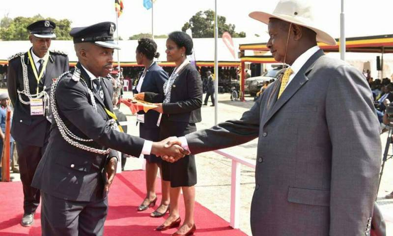 Museveni Awards Police Spokesperson,40 others with Medals for exemplary work!