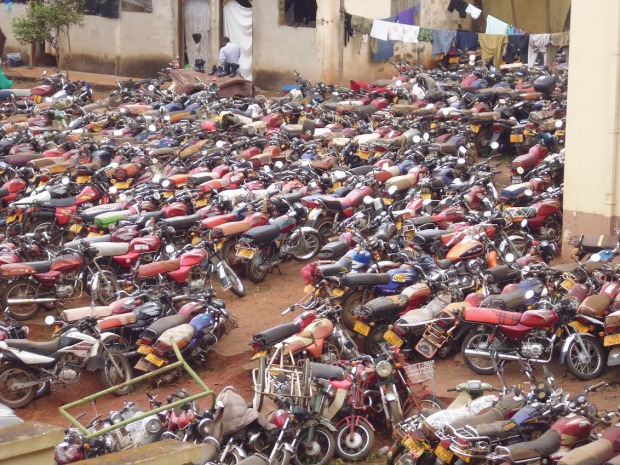 Police Intensifies Boda Boda Crack Down, Over 500 Charged