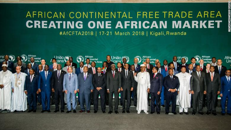44 African countries sign free trade agreement, Nigeria yet to sign