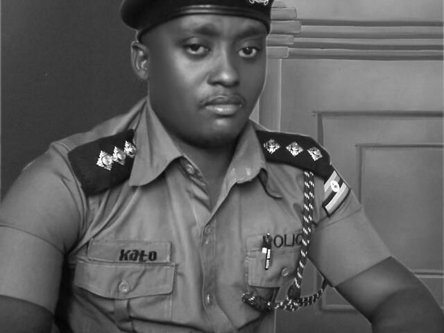 Assailants Take Off After Knocking Dead Kyebando Police Commander!