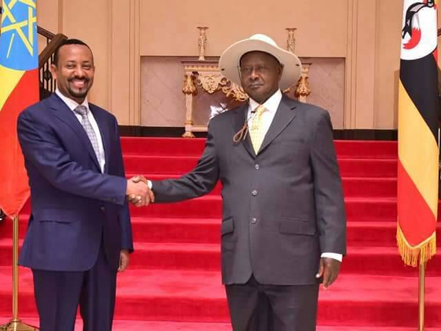 Ethiopian Leader Visits M7,To receive The Highest Medal