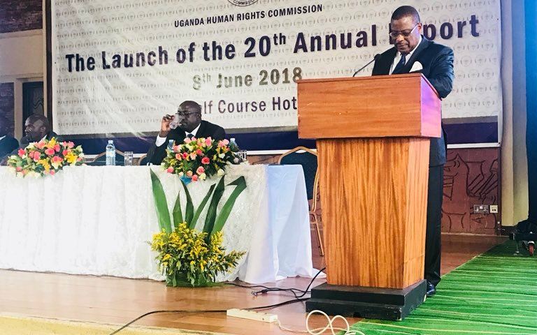 Uganda Human Rights Commission Launches 20th Annual Report
