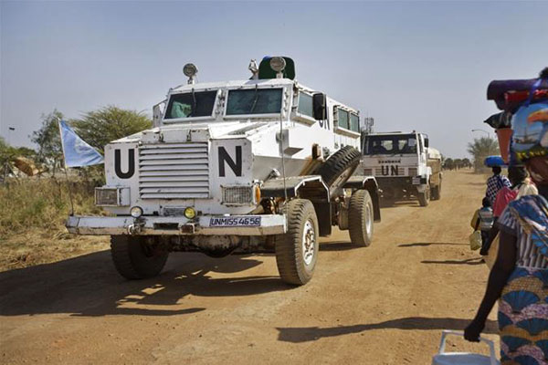UN convoy attacked in South Sudan