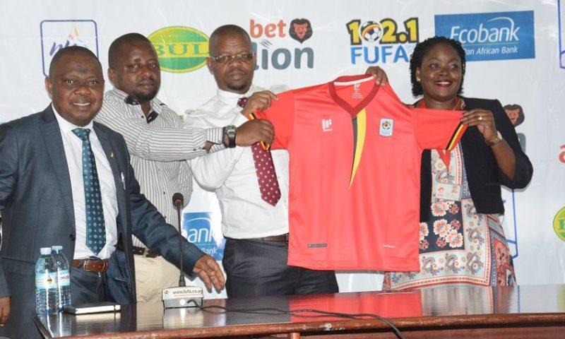 FUFA Unveils Uganda Cranes, Crested Cranes New Kits