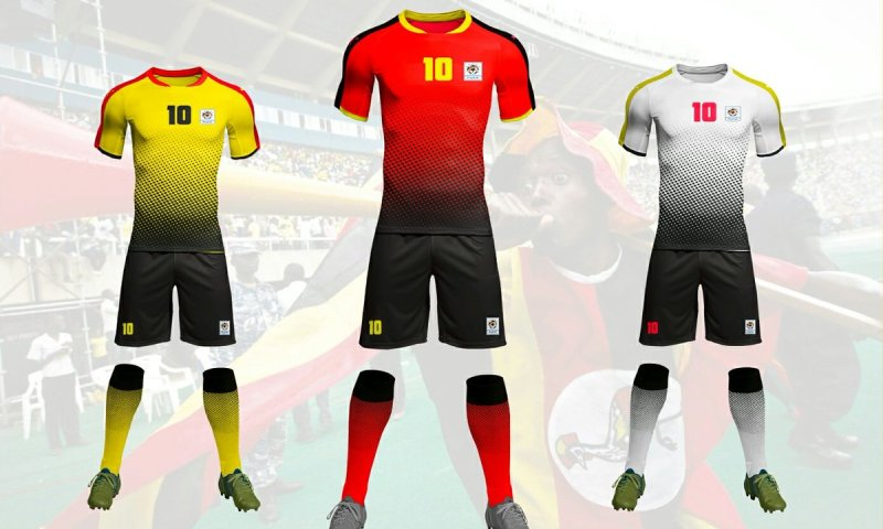 Uganda Cranes To Unveil Newly Designed Jersey Against Lesotho