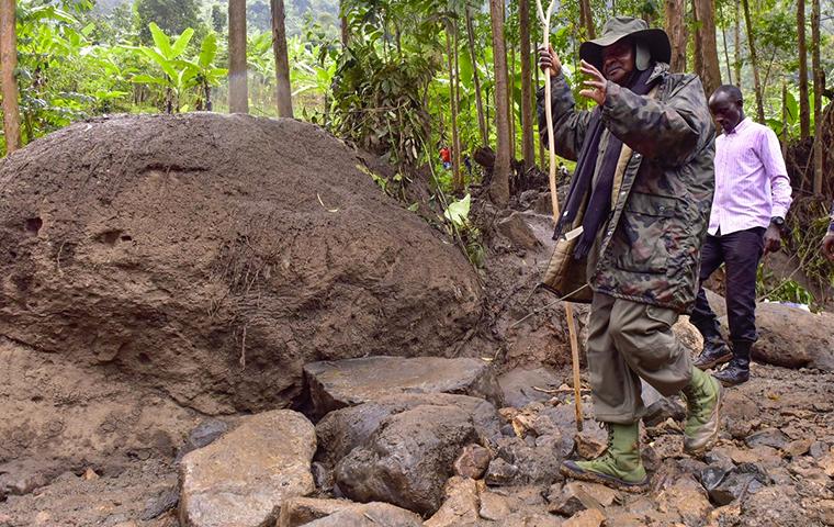 Gov't Ends Search For Missing Bududa Landslide Victims