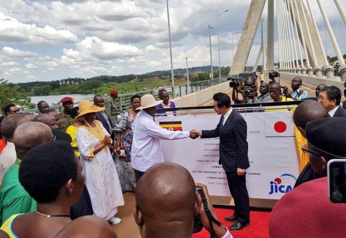 President Museveni commissions Source of the Nile Bridge